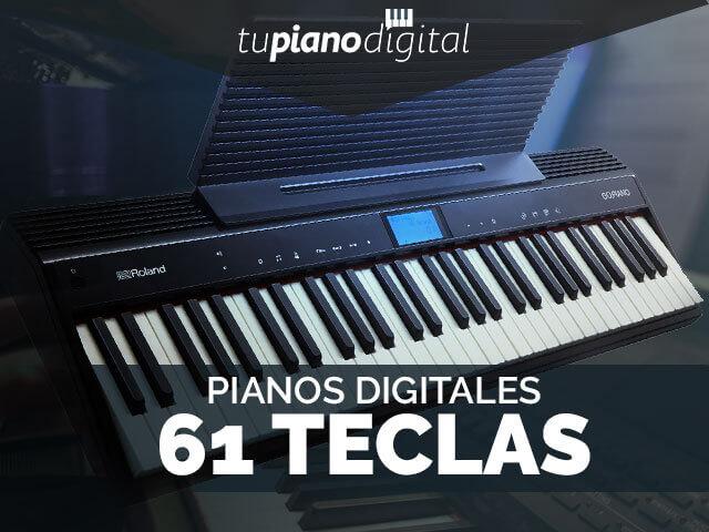 Mejores pianos digitales de 61 teclas
