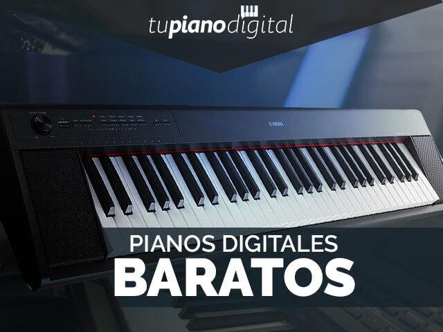 Mejores pianos digitales baratos