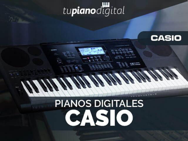 Mejores pianos digitales Casio