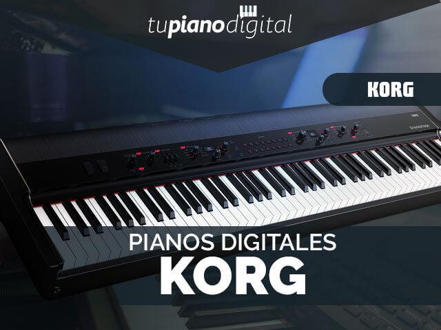 Mejores pianos digitales Korg