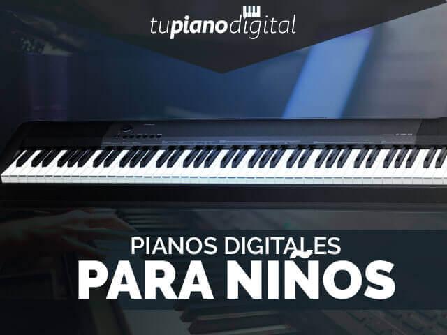 Mejores pianos digitales para niños