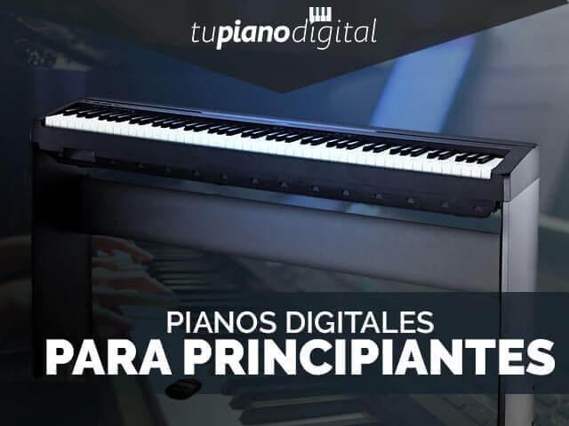 Mejores pianos digitales para principiantes