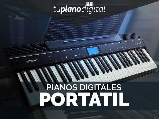 Mejores pianos digitales portátiles