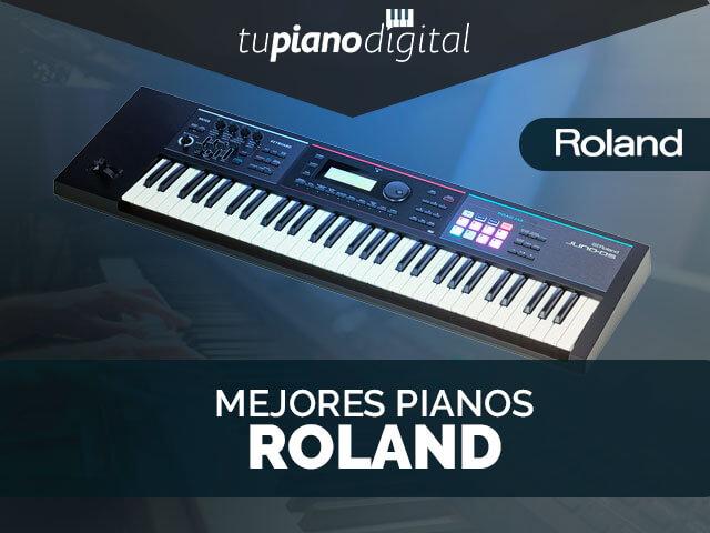 Mejores Pianos Roland
